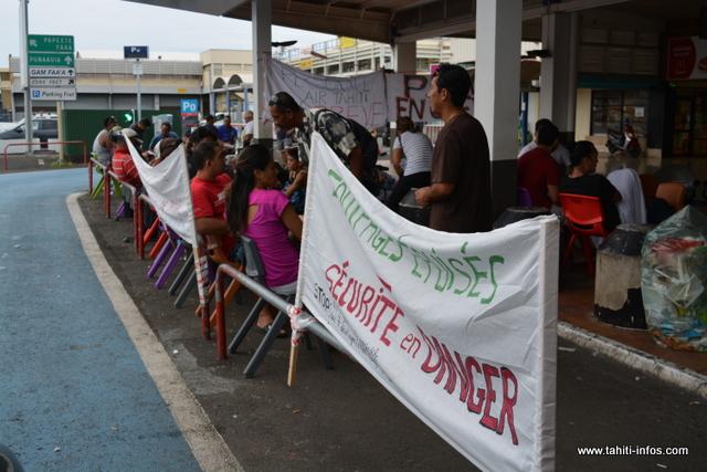 La grève générale a démarré il y a sept jours à Air Tahiti