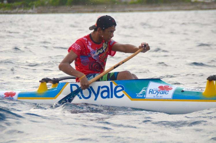 Malgré son handicap et le mauvais temps, Tutavake Ragivaru a tenu jusqu'au bout.