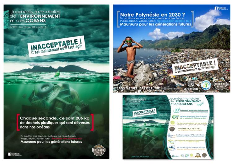 """le mouvement citoyen pour l'environnement a conçu deux affiches """"électro-choc"""" qui tournent actuellement sur les réseaux sociaux. Les réactions sont vives sur la toile. Une campagne d'affichage dans la ville pourrait voir le jour."""