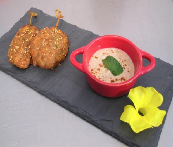 Kebab de poulet