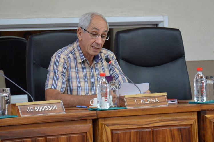 Albert Solia détaille le projet de Route du sud