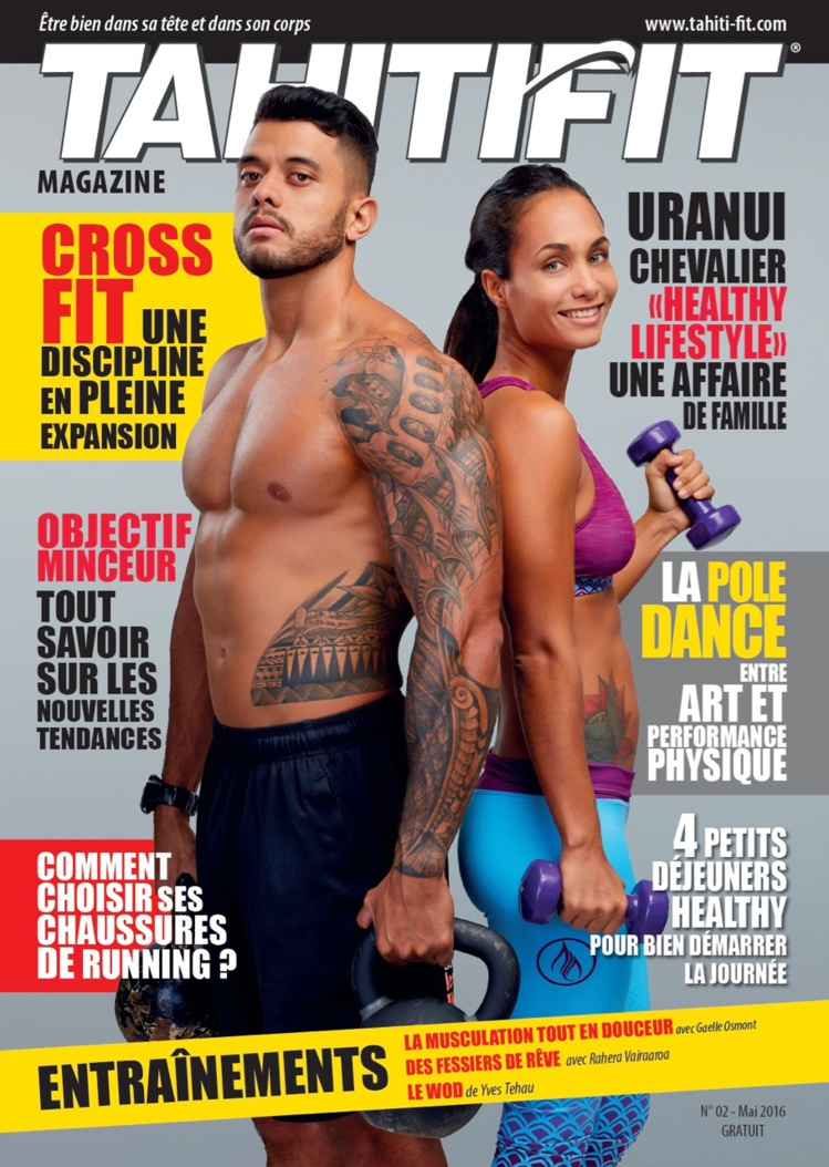 La couverture du magasine Tahiti Fit n°2