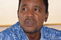 Tearii Alpha, élu municipal de Teva i Uta et ministre du Logement dans le gouvernement Fritch.