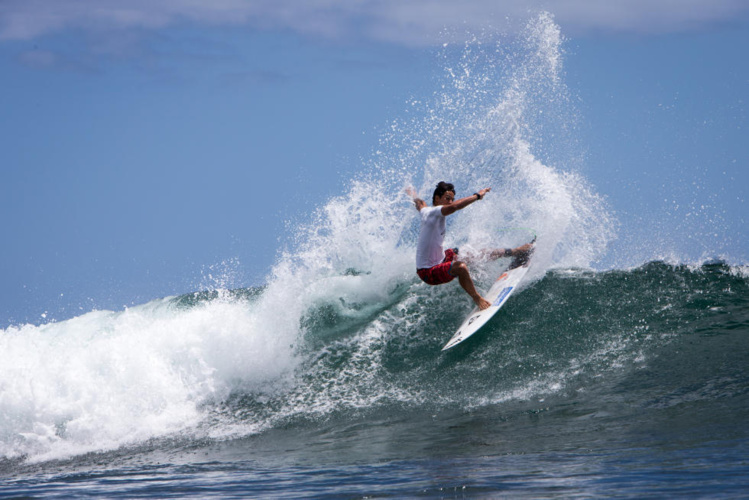 Taumata Puhetini a pu faire un bon résultat à Hawai'i
