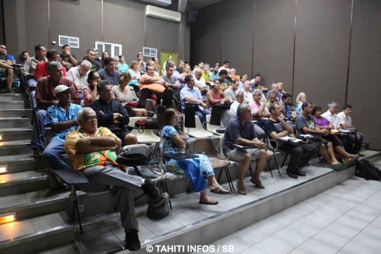 De nombreux présidents de fédérations avaient fait le déplacement à la demande de Mme la ministre