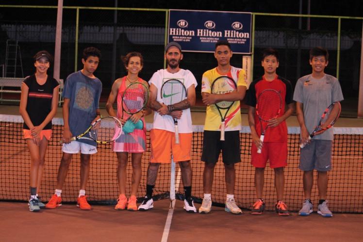 Tennis - Des jeunes polynésiens sur le circuit ITF Junior Asie/ Pacifique