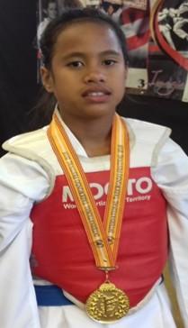 Taekwondo : H.V.M TKD no Faa'a a brillé en or comme les étoiles du drapeau de Faa'a
