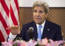 """A Oulan-Bator dimanche, John Kerry avait tonné contre la """"militarisation"""" de la mer de Chine méridionale."""