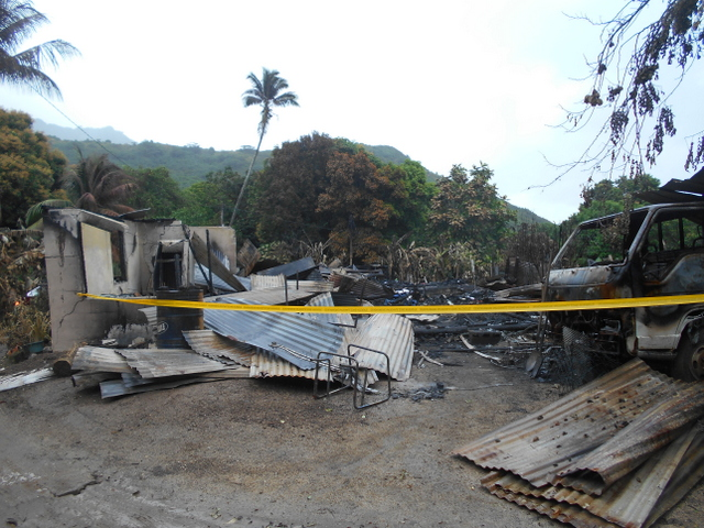 Moorea : le pyromane mis en examen pour destruction par incendie et blessures involontaires sur un pompier