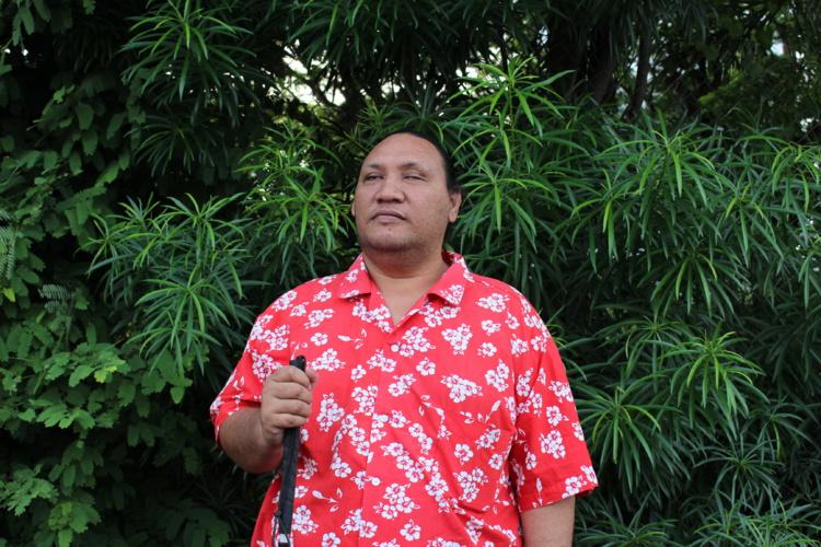 Diego Tetihia est le président de Mata Hotu, l'association qui s'appelait 6ème sens jusqu'en février dernier.
