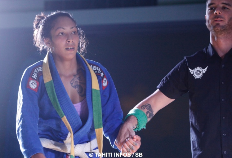 Le rêve de Kahealani Walker est de devenir ceinture noire de jiu jitsu