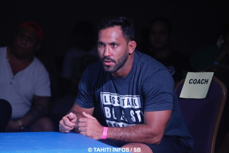 Taihia Maitere, coach et grand champion de la Tahitian Top Team