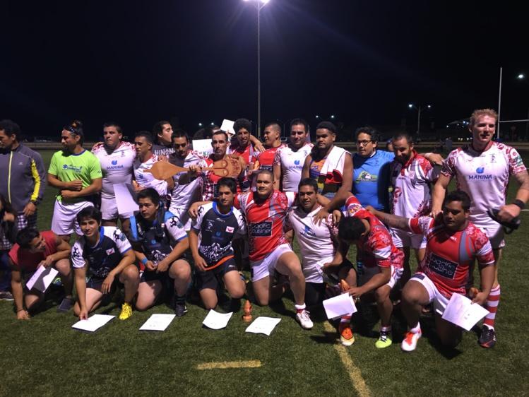 Le Papeete Rugby Club est jumelé avec le club de Rapa Nui