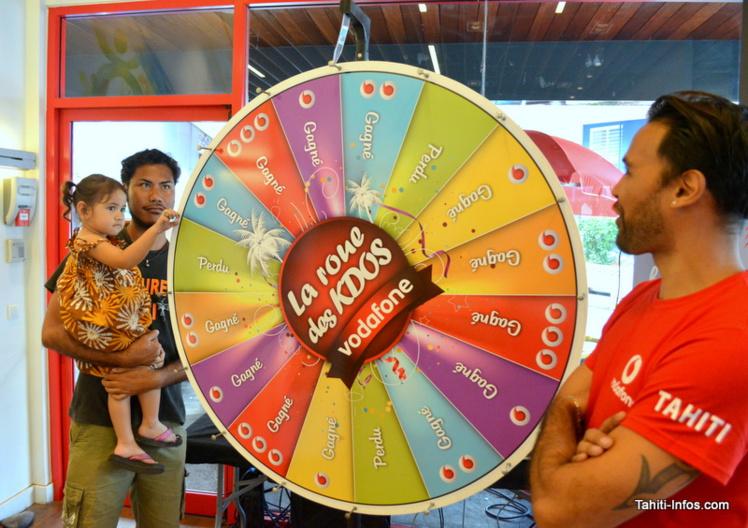 Vodafone a plein de cadeaux à offrir pour ses trois ans. A retrouver sur leur page Facebook.