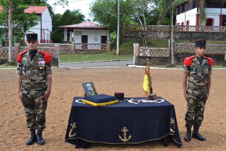 L'Armée a rendu un hommage à Emile Avae