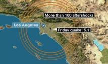 Séisme de 5,2 en Californie, le plus fort en deux ans mais pas de dégâts