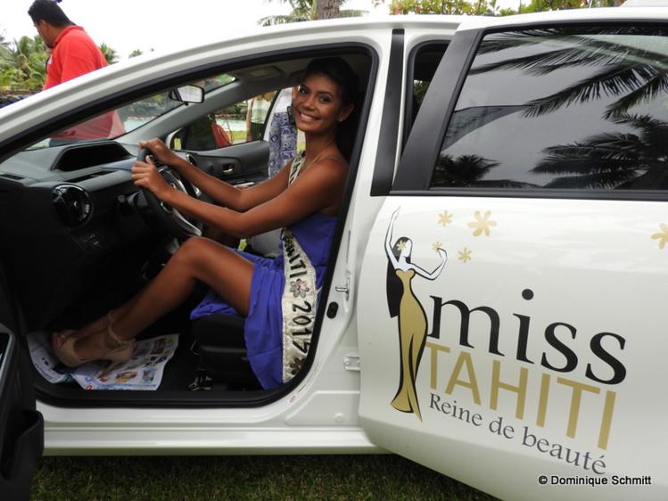 Vaimiti Teiefitu, la lauréate 2015, est heureuse de défendre une cause environnementale.