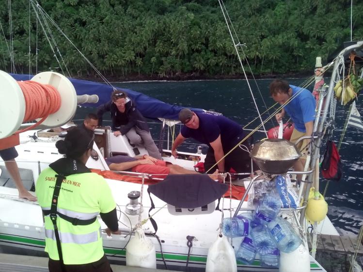 """L'état de santé du skipper du voilier """"Supertramp"""" inquiétait ses amis à bord"""