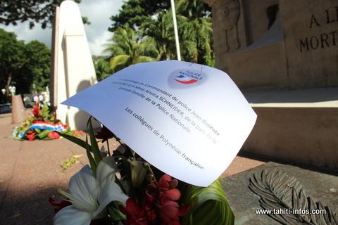 Policiers assassinés en métropole : l'hommage de leurs collègues de la DSP