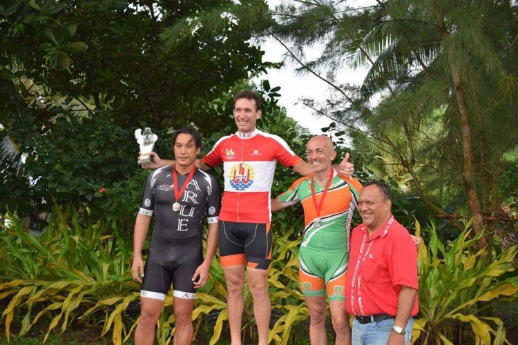 Cyclisme « Chpt de Polynésie » : Laurent Legoff et Raimana Mataoa s'imposent