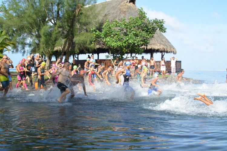 Triathlon « Tri Gauguin » : Cédric Wane indétrônable