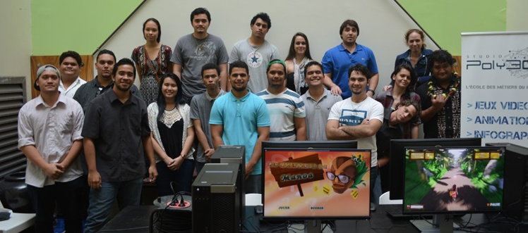 La première promo de Poly3D passe en deuxième année. Déjà 20 nouveaux élèves les suivent. Le cursus dure trois ans en tout.