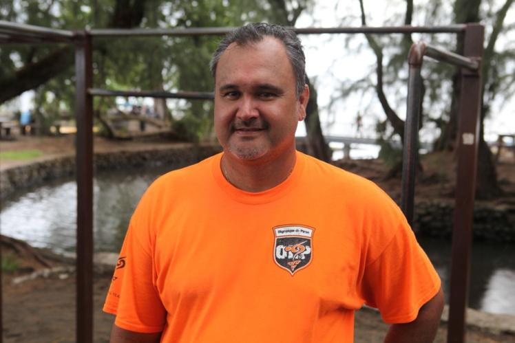Arthur Agnieray, président de l'OLP