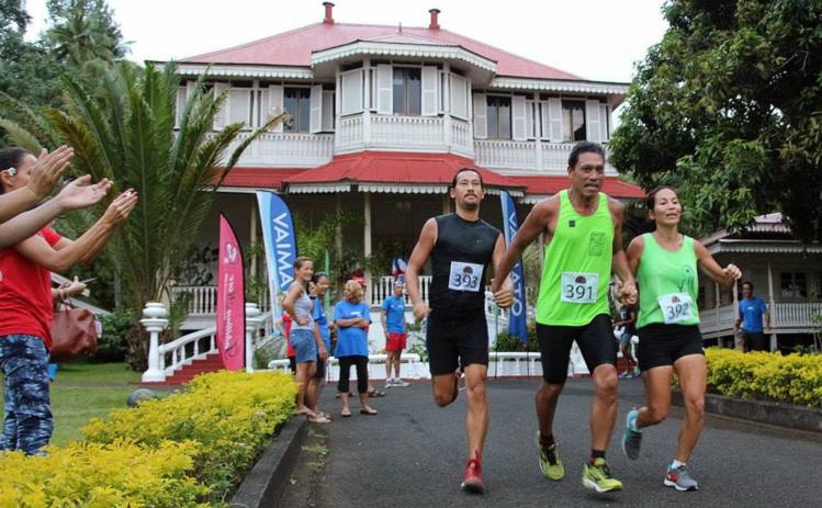 L'Athlétic club Excelsior d'Arue court pour Polynésie Alzheimer