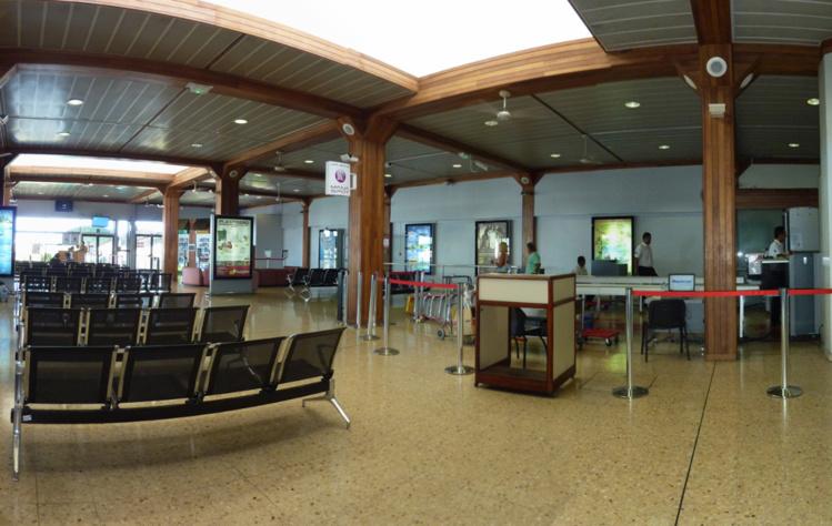 Tahiti Faa'a: Le plafond de l'aéroport s'écroule, cinq passagers blessés