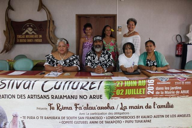 Les artisans de Arue organisent le Te rima fa'atau'aroha du 27 juin au 2 juillet