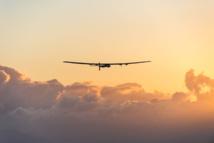 Première traversée de l'Atlantique en avion solaire