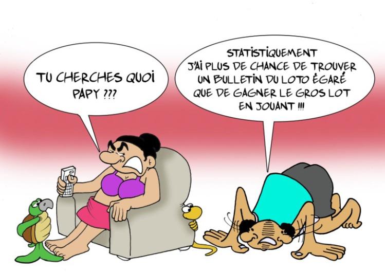 """""""A la recherche du ticket gagnant"""" par Munoz"""