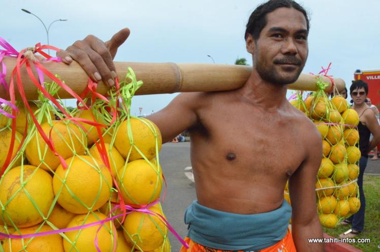Punaauia fête l'ouverture de la saison 2016 des oranges