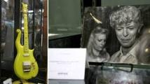 La guitare de Prince et une boucle de cheveux de Bowie vendues pour plus de 150.000 dollars