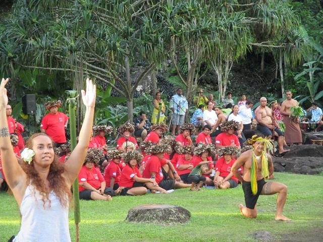"Le ""Songe de Taupapa"" au marae Arahurahu (photos)"