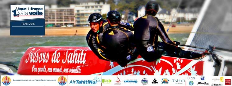 Voile – Tour de France 2016 : Rencontre avec l'équipage TRESORS DE TAHITI