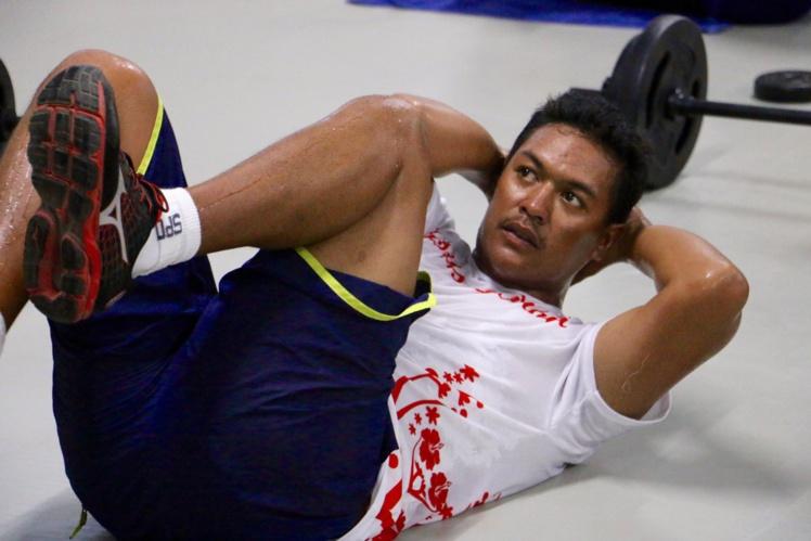 Manutea Mahai a perdu 20 kg lors de sa préparation