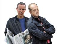 Les journalistes Gérard Davet et Fabrice Lhomme.