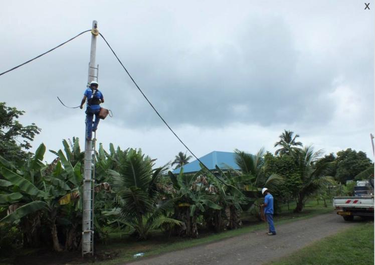 Les quatre communes du Sud de Tahiti représentent 12 % des abonnés de l'île. Aucune coupure électrique ne devrait intervenir en attendant le renouvellement de la concession avec un électricien.