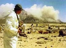 18 avril 1958, essai nucléaire français dans le Sahara