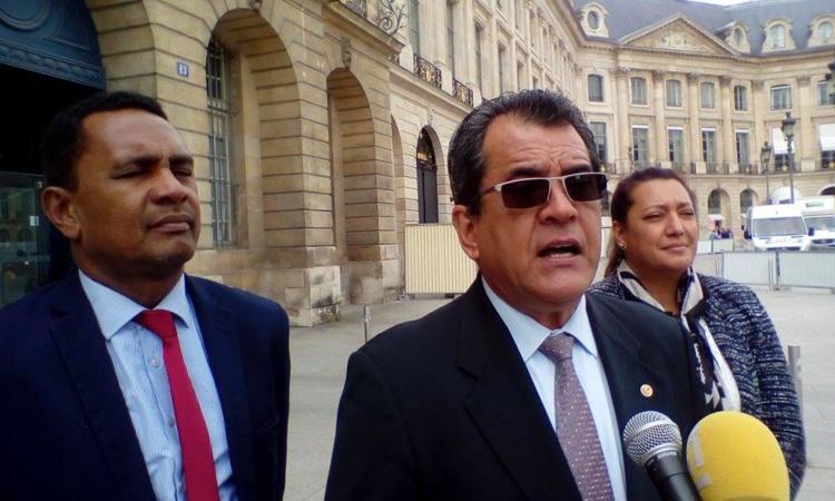 Fin mai, Edouard Fritch s'était déjà déplacé à Paris pour discuter de l'accord de Papeete.