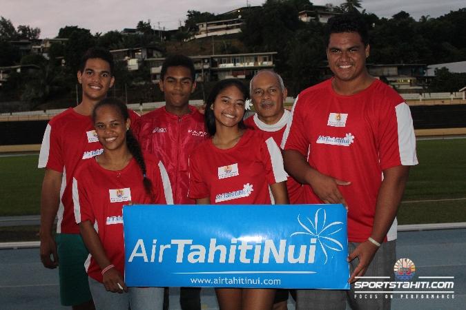 Une belle page de l'athlétisme polynésien a été écrite