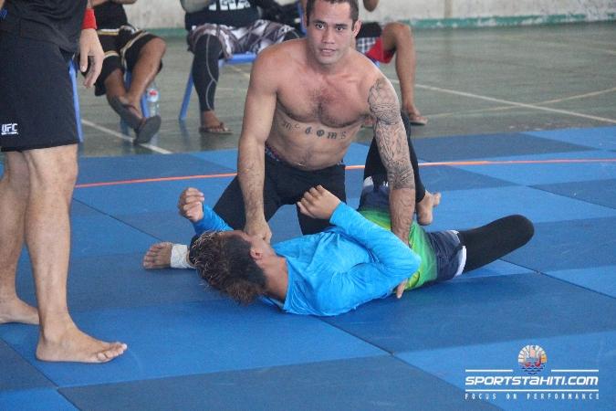 Tamahau Mc Comb en action