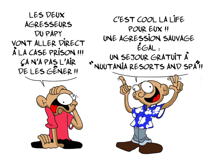 """""""Case prison"""" par Munoz"""