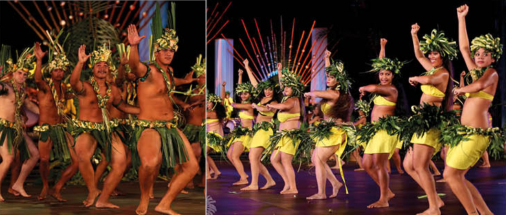 La dernière participation du groupe Hura Tahiti Nui au Heiva i Tahiti remonte à 2014, où ils ont présenté le thème de Mi'a et l'esprit de Fara.