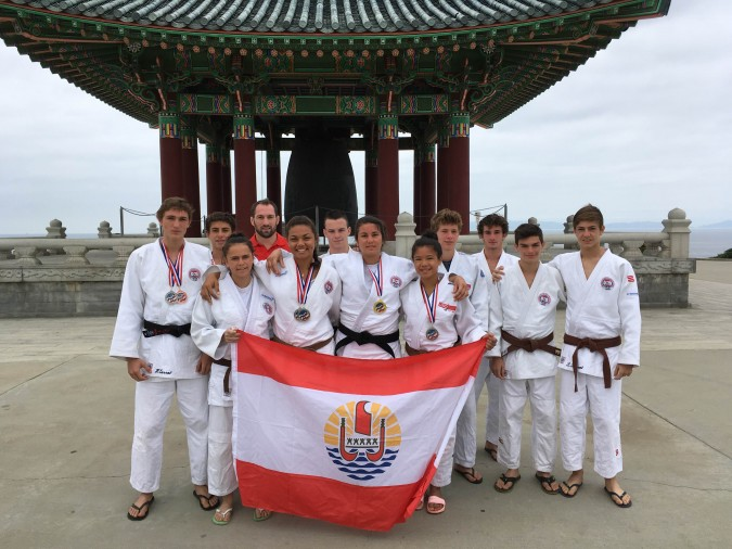 Judo « National American Summer » : Six médailles pour Tahiti