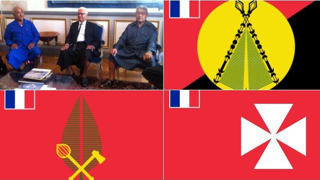 Evolution statutaire et développement économique au menu des rois de Wallis-et-Futuna à Paris