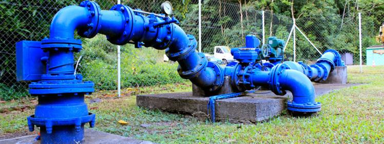 L'objectif est de distribuer une eau 100% potable à Moorea d'ici 2020. Photo : Polynésienne des eaux