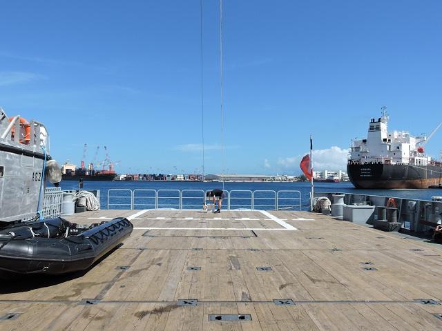 Armé par un équipage de 20 marins et pouvant assurer un déplacement d'environ 2300  tonnes en charge, le B2M peut atteindre une vitesse de 13 nœuds. Ce type de bâtiment  permettra d'effectuer des missions de 30 jours sans ravitaillement et sera en mesure de  naviguer 200 jours par an.