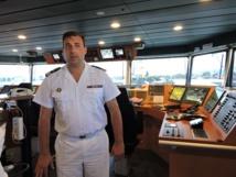 A bord du navire D'Entrecasteaux